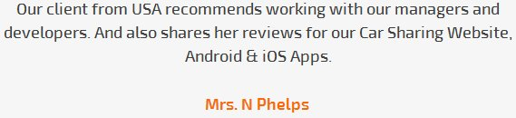 N. Phelps review